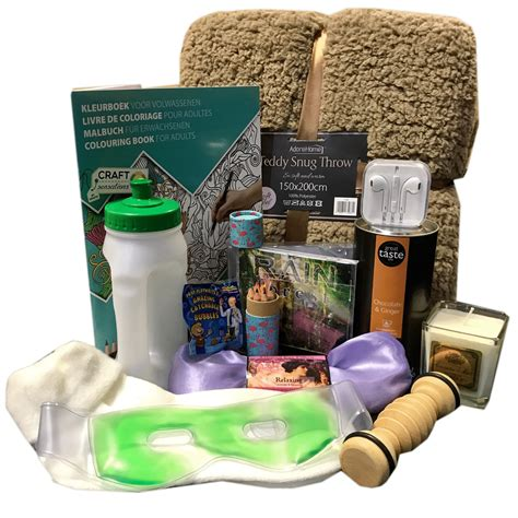 comfort items cancer comfort gift her on diagnosis convalescing or