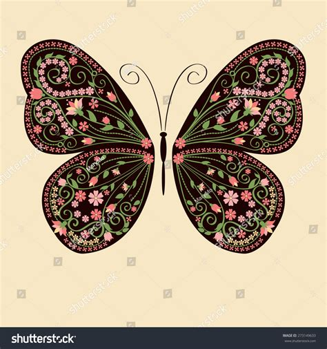 illustrator tutorial floral swirl ornaments butterfly decorative butterfly with floral decorative ornament