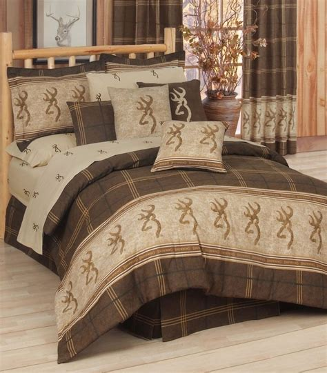 browning bedroom set browning buckmark 8 pc comforter set size beds browning and size
