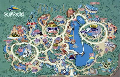 seaworld orlando map maps update 7001125 orlando florida tourist attractions map 10 toprated tourist attractions