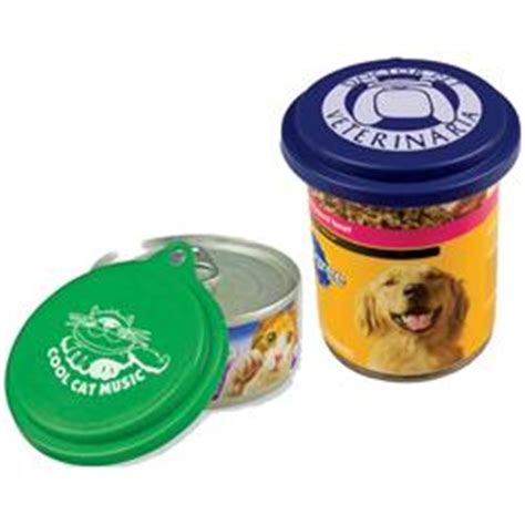 Pet Promotional Giveaways - custom pet food can lids promotional pet food can lid adco marketing
