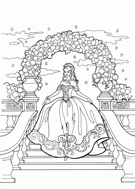 coloring pages for adults princess desenhos para colorir da princesa leonora grand entrance