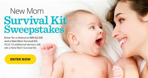 Parents Com Sweepstakes - win 2 500 and your new mom survival kit from parents magazine
