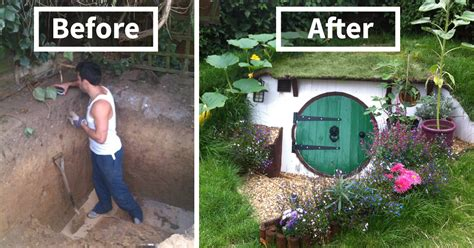 How To Make Your Backyard by How To Build A Hobbit House In Your Backyard