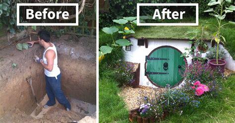 build  hobbit house   backyard