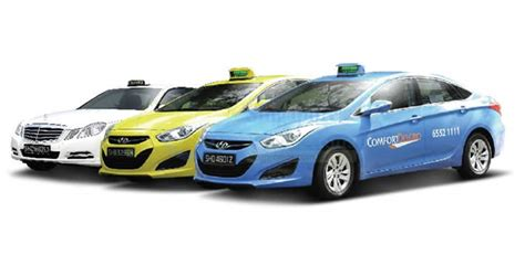 comfort cab book comfort delgro taxis with no flag down fees using