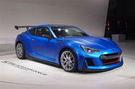 subaru brz sti performance concept debuts   york auto