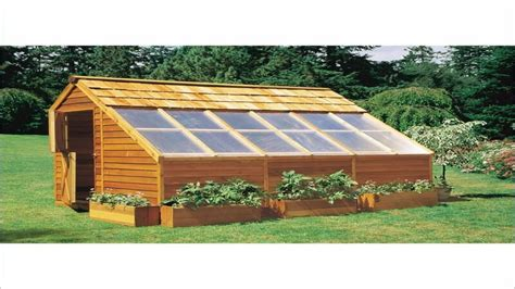 wood greenhouse plans build   greenhouse wooden