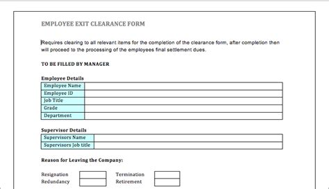 free employee exit template exit employee pack hr goodstuff