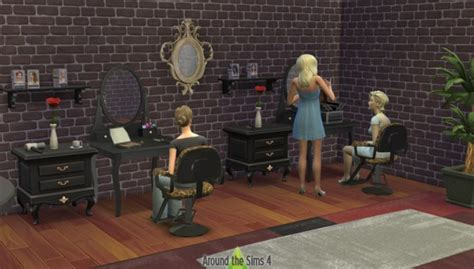 sims 4 cc beauty salon around the sims 4 beauty salon sims 4 downloads