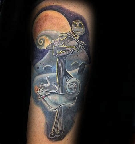 ghost dog tattoo 100 nightmare before tattoos for design ideas