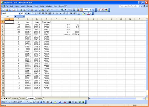 excel data templates 6 advanced excel spreadsheet templates excel