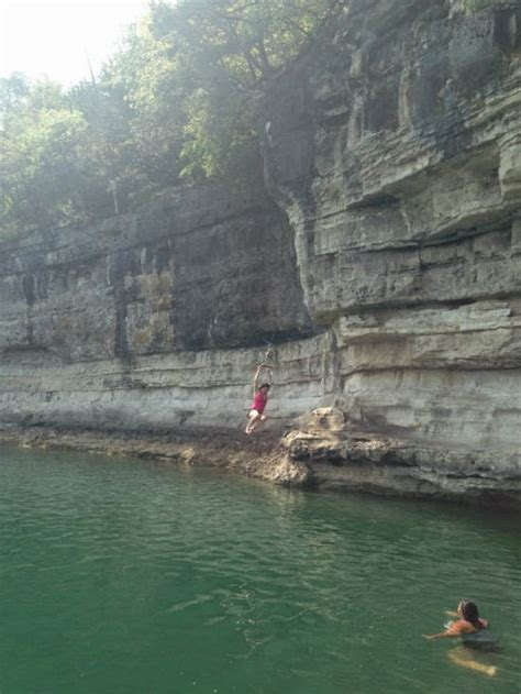 table rock lake rope swing lake weekend 26 and not counting