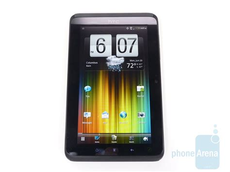 Tablet Htc Evo View 4g htc evo view 4g unboxing and on phonearena reviews