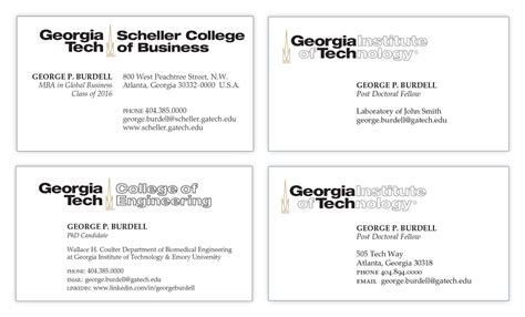 uga business card template student business cards licensing trademarks
