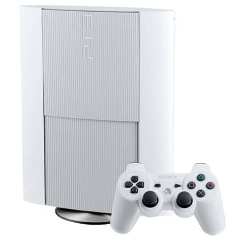 Ps3 Superslim White 500gb sony ps3 slim console pre owned refurb slickdeals net