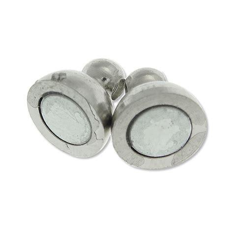 Bewerbungsmappe Grobe 5 Magnet Verschluss Verschl 220 Sse Verbinder Rund 14mm Silber