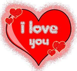 imagenes de corazones que digan i love you para colorear corazones animados