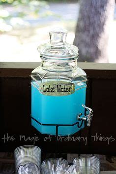 water themed names camping party ideas cing theme