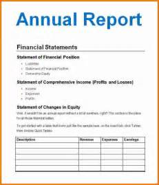 Non Profit Annual Report Template by 5 Nonprofit Annual Report Template Expense Report