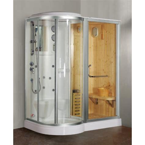 box doccia con sauna box doccia idromassaggio combinato con sauna finlandese in