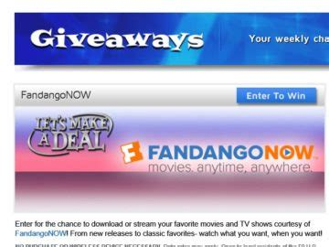 Let S Make A Deal Giveaway - let s make a deal weekly online giveaway sweepstakes