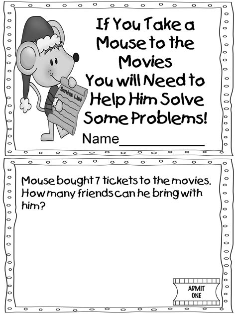 if you take a mouse to school coloring page if companion