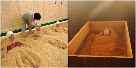 Gergaji Jepang and mind tren kecantikan baru jepang mandi serbuk
