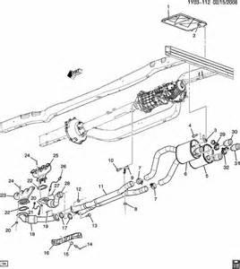 2009 cadillac xlr 2009 2011 chevy corvette intermediate exhaust x pipe 25839150 factory oem parts
