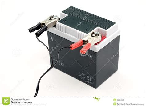 Motorrad Batterie Laden by Charging Motorcycle Battery Royalty Free Stock Photo