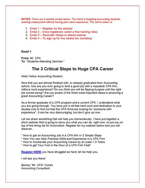 Firm Marketing Letter Email Marketing Grovers Copywriting