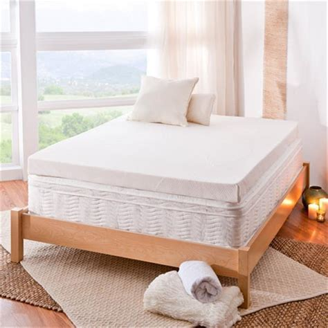 King Bed Foam Topper 4 Inch Memory Foam Mattress Topper Pad Bed Xl King Cal Size New Ebay