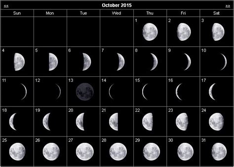 moon phases 2015 calendar monthly stargazing calendar for october 2015 cosmobc com