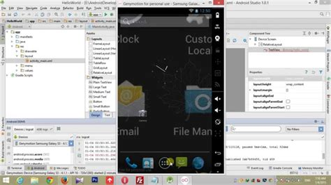 design android application tutorial create first android app on android studio tutorial