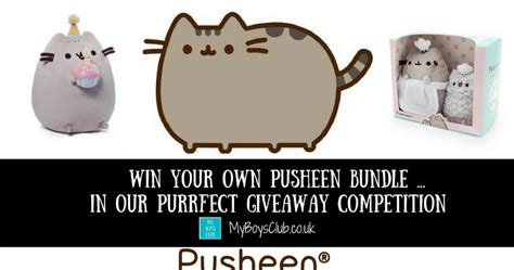 Win Our Giveaway by My Boys Club Win Your Own Pusheen In Our Purrfect