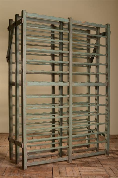 Wooden Wine Racks For Sale by Large Original Painted Antique Wooden Wine Rack Antiques