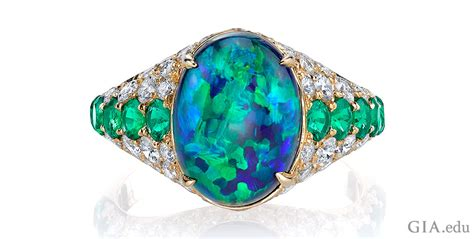 opal october october birthstone what you need to about opal