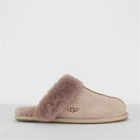ugg mule slippers ugg scuffette ii mule slippers dusk pink house of