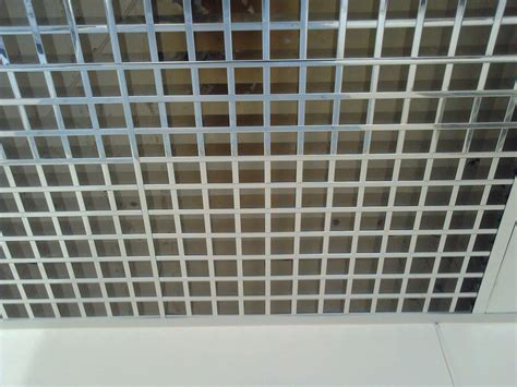 open grid ceiling open grid ceiling mks facade