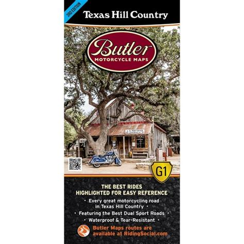 texas hill country motorcycle rides map butler motorcycle maps
