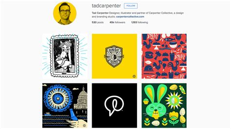 design for instagram bio 27 graphic designers to follow on instagram creative bloq