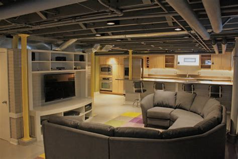 Diy Basement Ceiling Ideas Basement Ideas With Low Ceilings Www Imgkid The Image Kid Has It