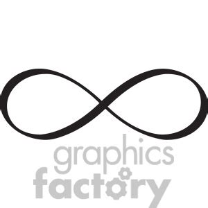 infinity tattoo vector clipart of infinity symbol vector design 392483