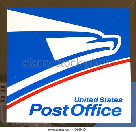 Us Post Office Address Lookup Post Office Sign United States Stock Photos Post Office Sign United States Stock
