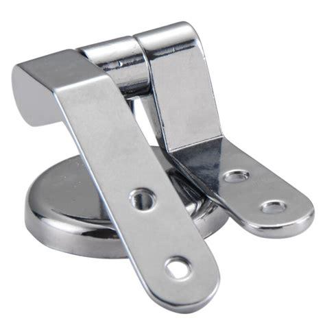 replacement chrome toilet seat hinge set pair