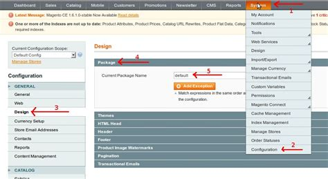 magento design themes default replace default store switcher on magento and display