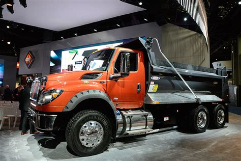 concept work truck international trucks pulls veil on hv series work