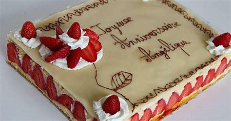 Modèle De Gâteau D Anniversaire
