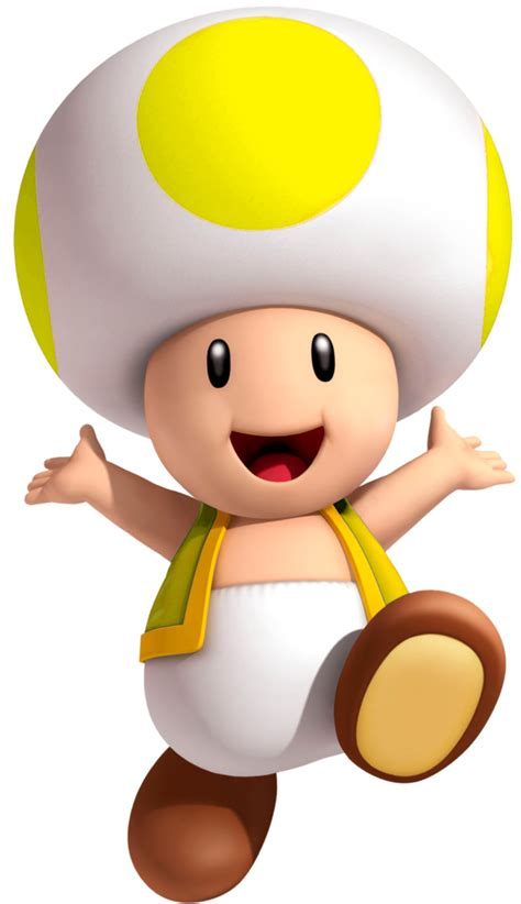 blue yellow toad from mario yellow toad and blue toad
