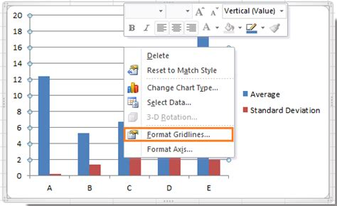format gridlines excel 2013 how to remove gridlines from chart in excel